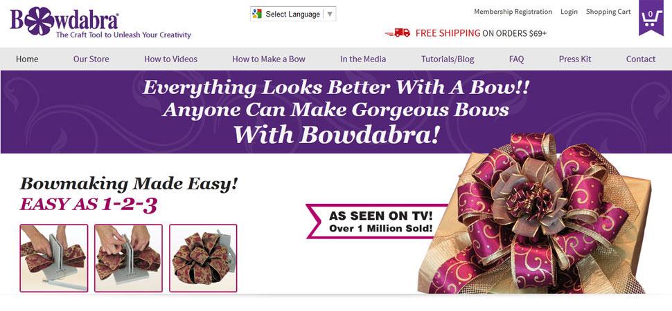 Responsive Web Designing for Bowdabra