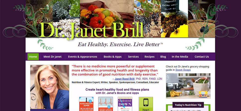 Affiliate Marketing for Dr.Janet Brill