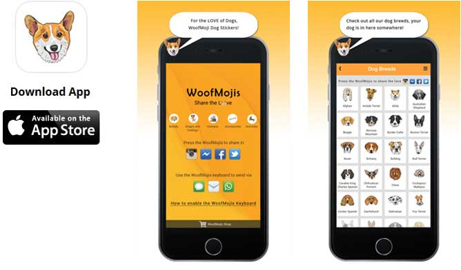Mobile App Development for Woofmojis